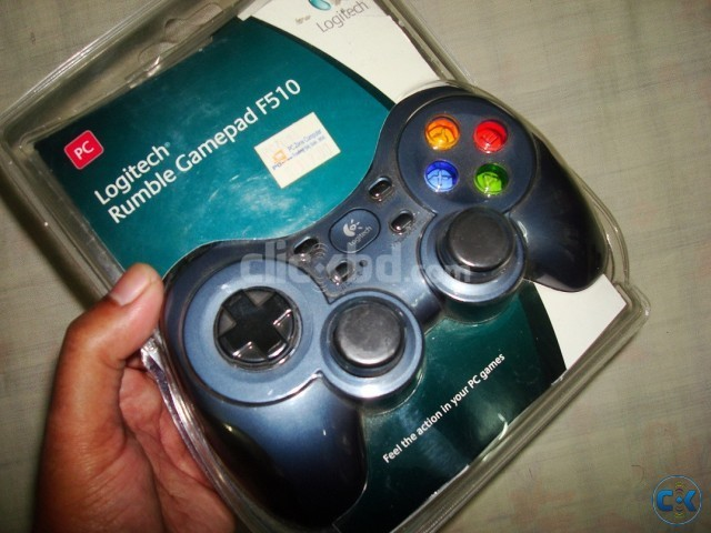 Logitech rumble gamepad F510 | ClickBD large image 0