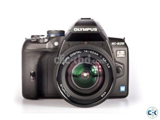 OLYMPUS E620 DSLR with TWO Kit-lenses