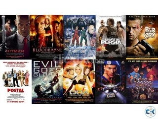 Movies Games TV series