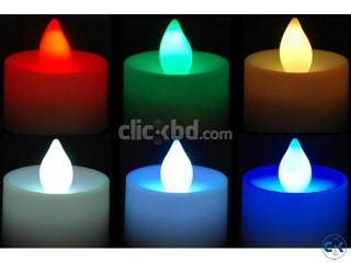 7 COLOUR CANDLE LIGHT ITEM CODE NCL PRICE 350 taka 7 Col