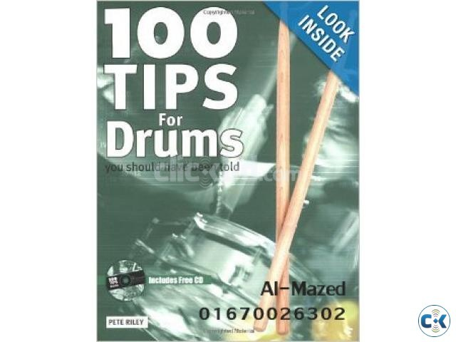 100 Tips for Drums Book | ClickBD large image 0