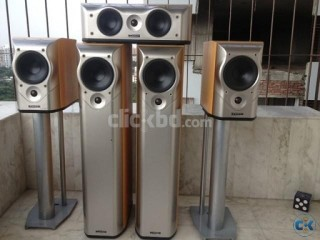 MISSION M5 Series AV or Stereeo Speaker Set Made In England