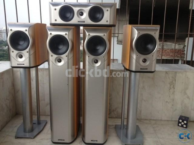 MISSION M5 Series AV or Stereeo Speaker Set Made In England | ClickBD large image 0