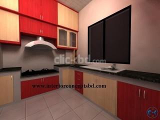 Kitchen furniture in bangladesh