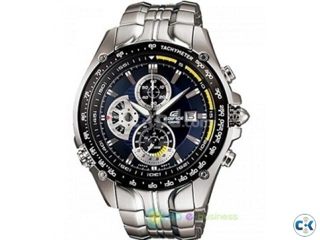 Casio Edifice Gents Chronograph Watch EF-543D-1AV EF543D | ClickBD large image 0