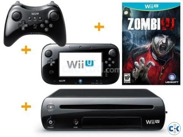 Nintendo Wii U Console 32GB 1 game Free_ by A.Hakim | ClickBD large image 0