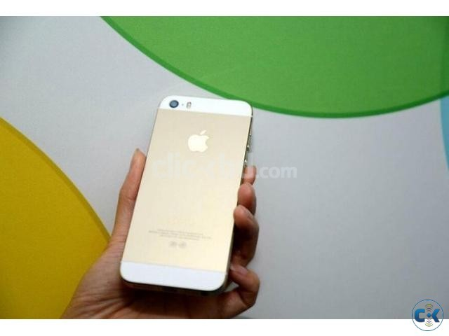 Apple iPhone 5S golden 16gb. | ClickBD large image 0