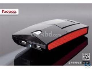 YooBao 13000Mah PowerBank With 2 Output Option Fr All Gadget