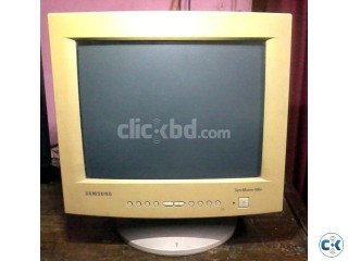 Samsung 15Inch CRT Monitor White