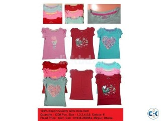 100 Export Quality Girls Kids Item