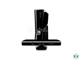 Xbox 360 Slim 250 GB with Kinect Original and Unmodded