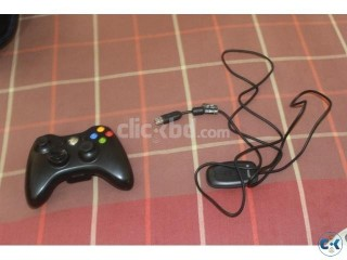 Original Xbox wireless controller with Reciever for PC