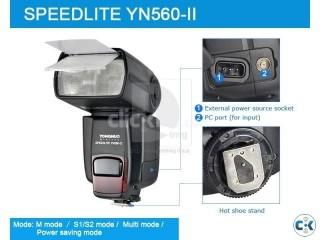 Yongnuo Upgraded 2nd Generation flash YN560 II