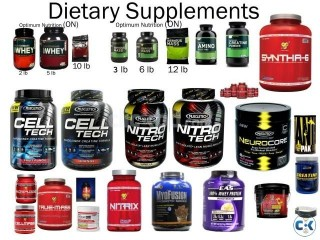 Chose Your Desired Dietary Bodybuilding Supplements