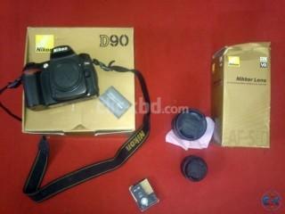 Nikon D90 18-200mm VR lens