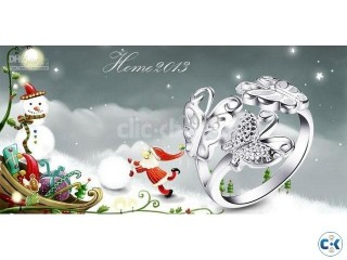 Pretty and cute flying Silver Ring
