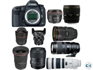 Full Frame New Canon and Nikon Cameras EOS 1DS Mark III EOS