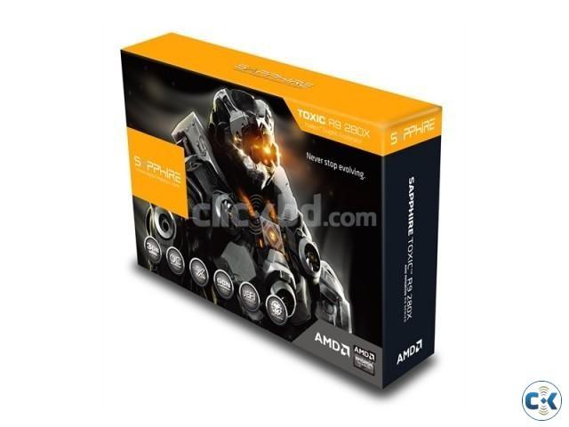 SAPPHIRE TOXIC EDITION R9 280X 3GB GDDR5 BY SAYED