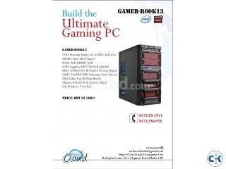 Gaming PC from Techno cloud Gamer-R00k13