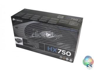 CORSAIR HX 750 Watt 80 PLUS Gold Certified Modular PSU