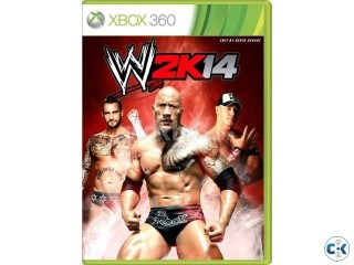 Xbox 360 and PS3 Games WWE 2K 14