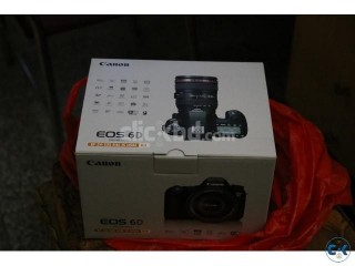 Canon 6D 24-105 F4 L Lens Brand New Intact