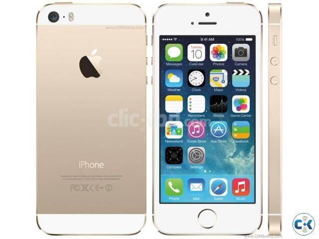 iPhone 5s-32 GB-Gold Color | ClickBD large image 0