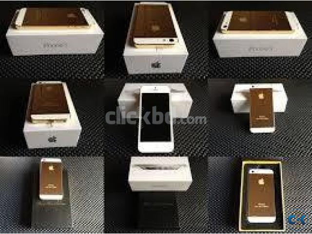 IPHONE 5s 64gb 100 24KT GOLD WITE CERTIFICATE 4 LAC TAKA  | ClickBD large image 1