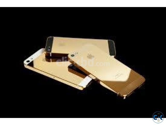 IPHONE 5s 64gb 100 24KT GOLD WITE CERTIFICATE 4 LAC TAKA  | ClickBD large image 2