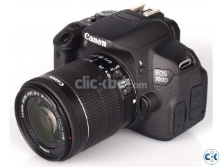 Canon EOS 700D DSLR Camera with 5 years service warranty