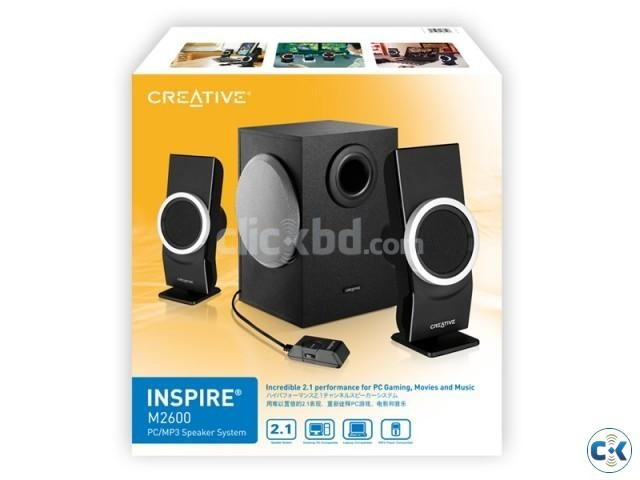 Creative Inspire M2600 Sound System for sale 3999tk | ClickBD large image 0