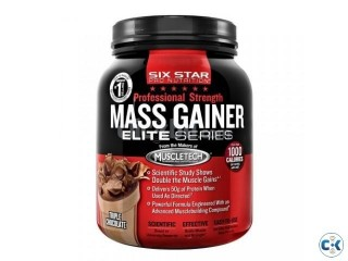 Six Star Pro Nutrition-Mass Gainer Elite Series