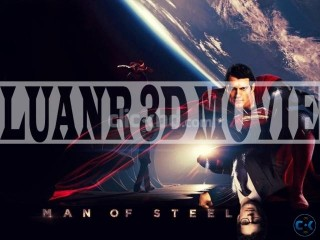 MAN OF STEEL 3D MOVIE FOR 3D TV ON SELL