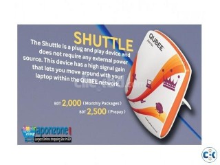 Qubee Shuttle Rover Postpaid Modem Home Office Delivery