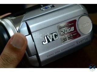 JVC camcorder handycam