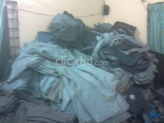 Left over danim pant 1500pc with only 95tk pc