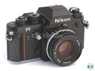 ANTIC NIKON F3 camera