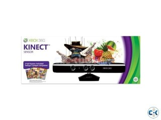 Xbox 360 Kinect Sensor with 5pcs any game free