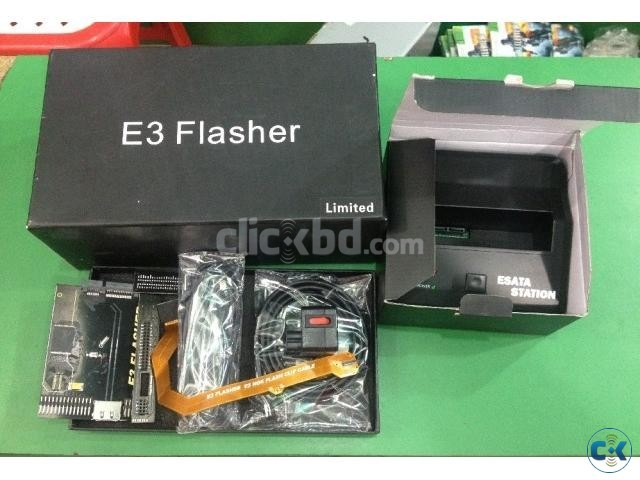 Original e3 flasher limited edition for ps3 including 11.
