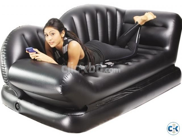 convertible air lounge sofa bed as seen on tv clickbd. Black Bedroom Furniture Sets. Home Design Ideas