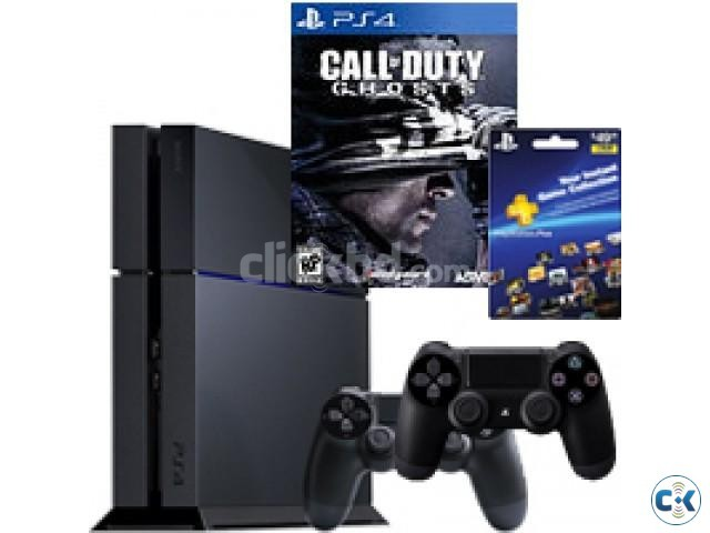 Play Station 4 - Brand New Sealed w BUNDLES | ClickBD large image 0