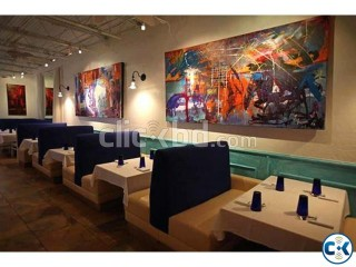 Restaurant Design and Decoration and furniture solution