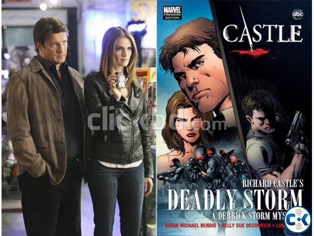 Deadly Storm Graphic Novel from HIT TV SHOW CASTLE | ClickBD large image 0