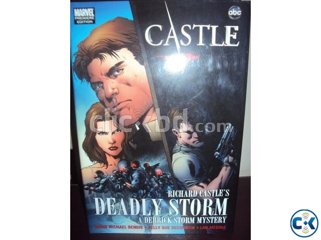 Deadly Storm Graphic Novel from HIT TV SHOW CASTLE | ClickBD large image 1