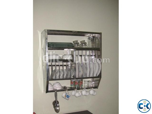 Stainless Steel Wall Mounted Plate Rack Clickbd  sc 1 st  Home design ideas & Wall Mount Plate Rack | Home design ideas