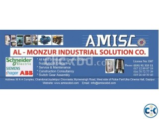 3 Phase Induction Motor & Motor Control Panel