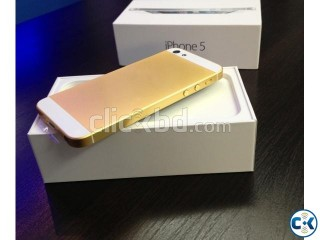 IPhone 5s GOLD Intact Factory Unlocked