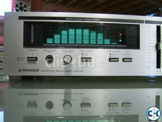 Pioneer SG50 Equalizer. MADE IN JAPAN