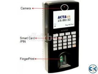 Actatek Web Base Time Attendance Finger Print and Mifare