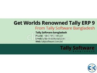Tally.ERP 9 Accounting Inventory and Payroll Software
